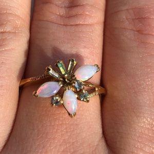 Avon Opal Ring- Vintage